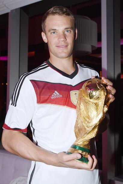 El arquero del Bayern Munich ha demostrado un excelente nivel de juego e...