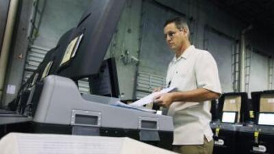 Elecciones 2010: Máquinas para votar