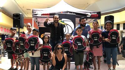 Lleno total en la primera parada de 'Mochilas con la Mochila' de El Free-guey show