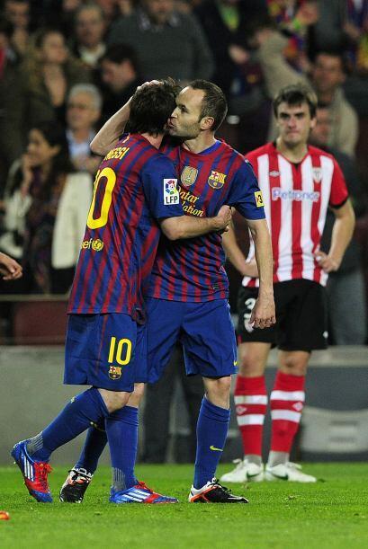 Barcelona le ganó un partido bravo al Athletic de Bilbao y siguen dando...