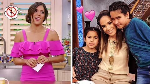 #DAEnUnMinuto: Karla llegó con sus hijas al show y descubrimos por qué F...