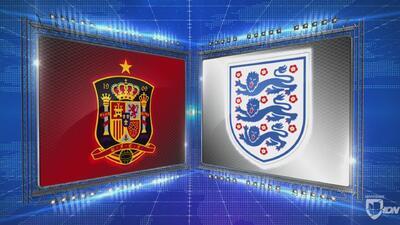 España 2-3 Inglaterra - GOLES Y RESUMEN - Liga A - Grupo 4 - UEFA Nations League