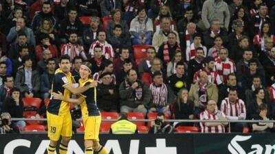 Al Atlético retuvo el liderato al menos por una semana más.