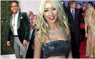 Fashionometro rumbo a Latin GRAMMY: XTina, Romeo, Shakira y más looks me...