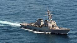 Video: 10 marinos heridos y 5 desaparecidos tras el choque de un destruc...