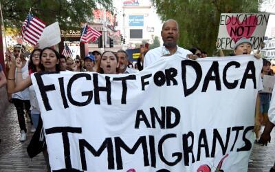 Miles han protestado en EEUU desde que el presidente Trump elimin&oacute...
