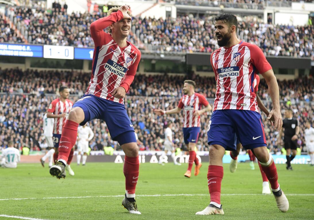 En fotos: Oblak y Griezmann se hacen valer en el Santiago Bernabéu getty...