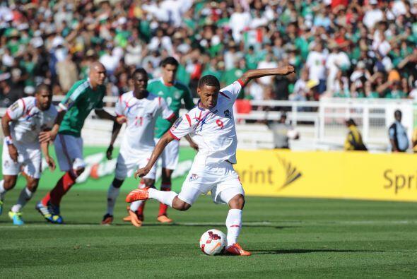 Desde muy temprano en el partido Panamá se fue al frente gracias...