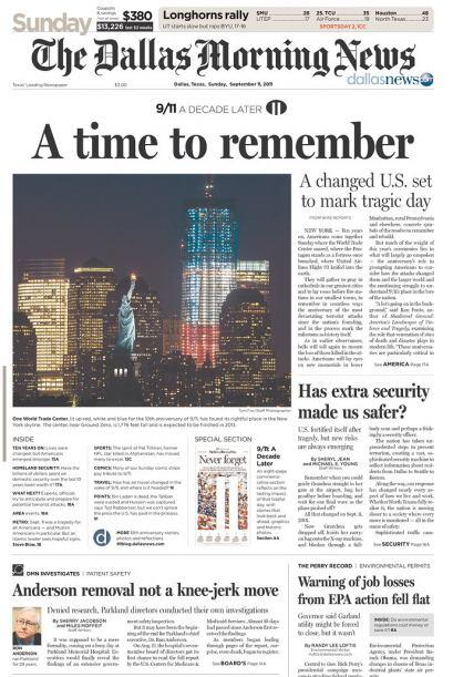 Cortesía de The Dallas Morning News vía Newseum
