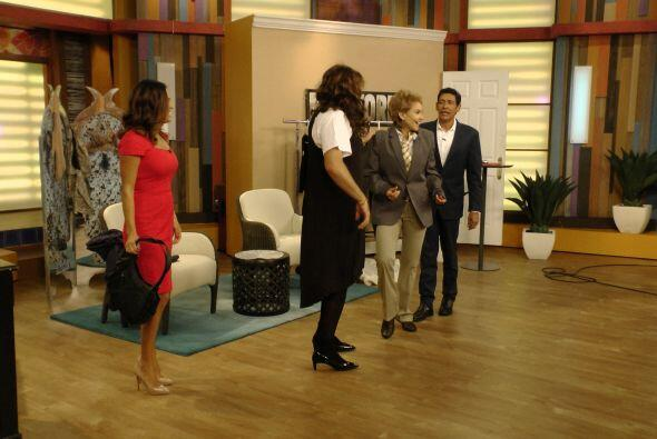 ximena no paró de reír y bailar con un estilo muy peculiar y un vestuari...