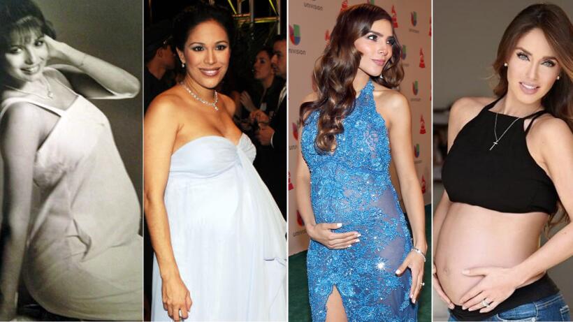 Giselle Blondet, Karla Martinez, Alejandra Espinoza y Anahí embarazadas