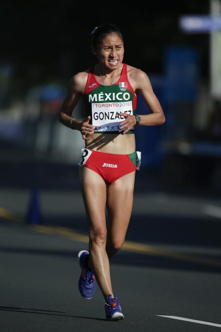 González, quien genera grandes esperanzas en México de cara a los Juegos...