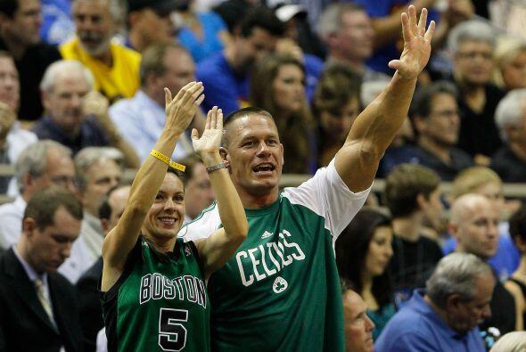Y el basquetbol no es la excepción. ¡Go Celtics!