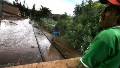 Fuertes lluvias en Perú. (Imagen de Archivo).