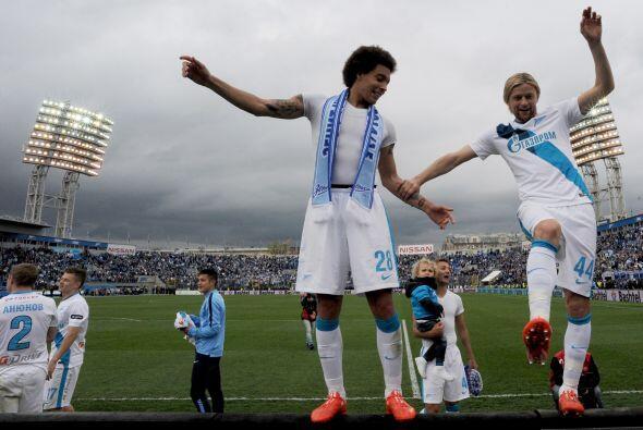 En Rusia el campeón fue el Zenit de San Petersburgo conquistando el títu...