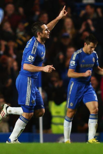 Era tiempo de que un referente del club, Frank Lampard, se hiciera prese...