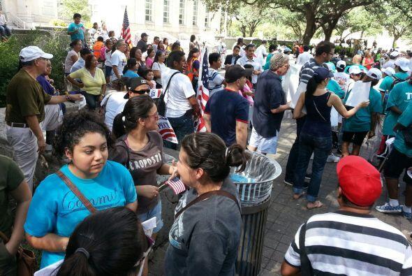 Marcha por la digindad Houston