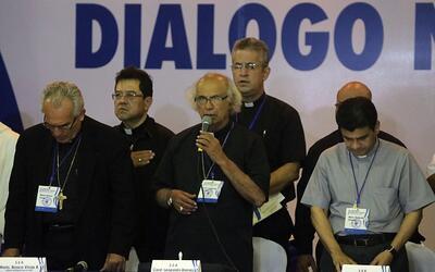 La Iglesia Católica de Nicaragua decidió suspender el di&a...