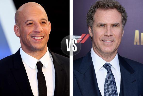 OMG! Aunque no lo creas Vin Diesel y Will Ferrell tienen 46 años. Más vi...