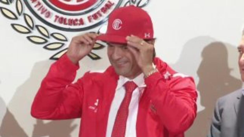 José Saturnino Cardozo fue presentado como técnico de Toluca