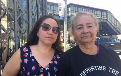 Blanca Lima, a la izquierda, y Zoila Martínez, a la derecha, han...