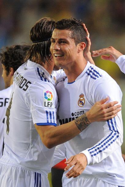 Y cuando parecía que el partido terminaba con este resultado, Cristiano...