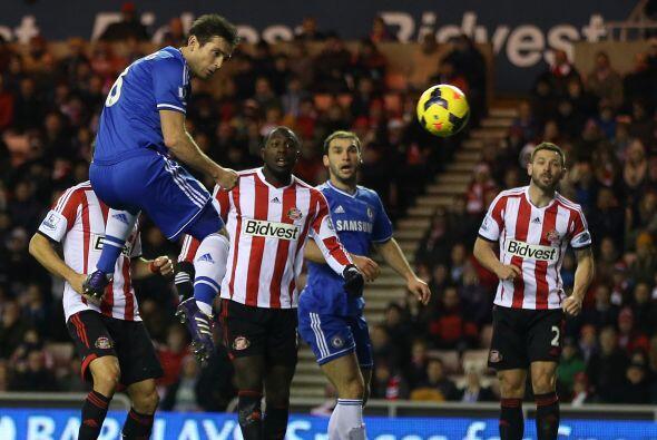 Pero Frank Lampard, capitán de los 'Blues', igualó el marc...