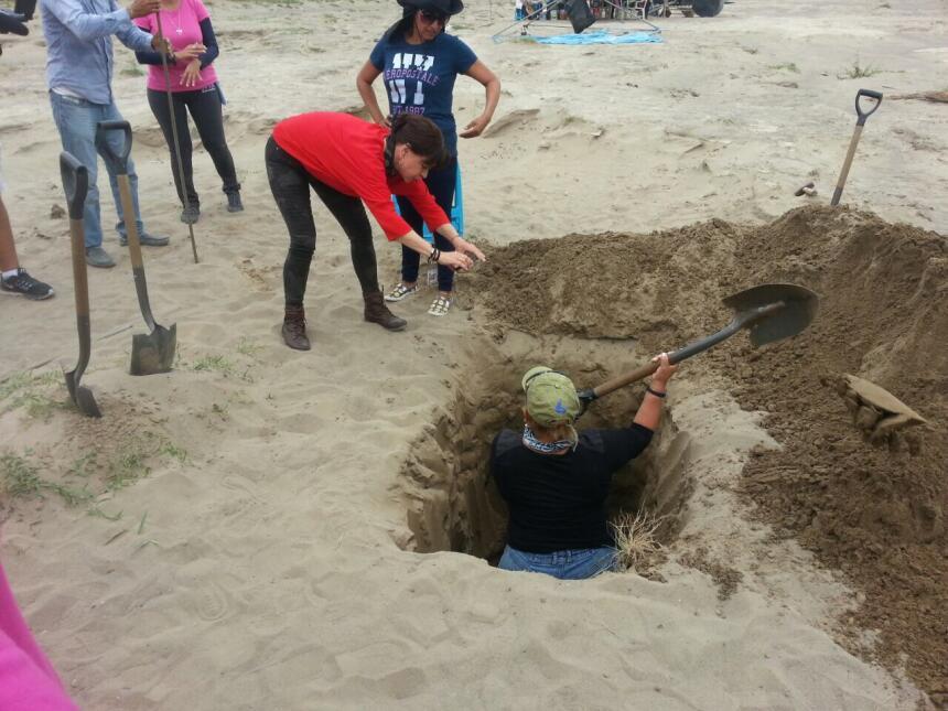 """Las """"Colinas de Santa Fe"""", en Veracruz, se convirtieron en un tiradero d..."""