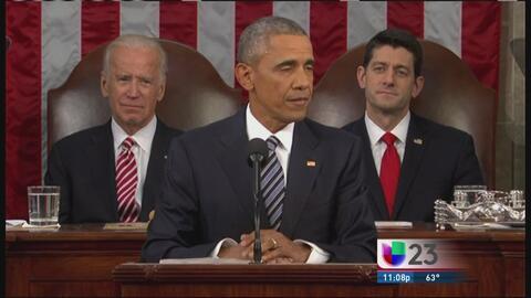 Obama toca el tema de Cuba en su último SOTU