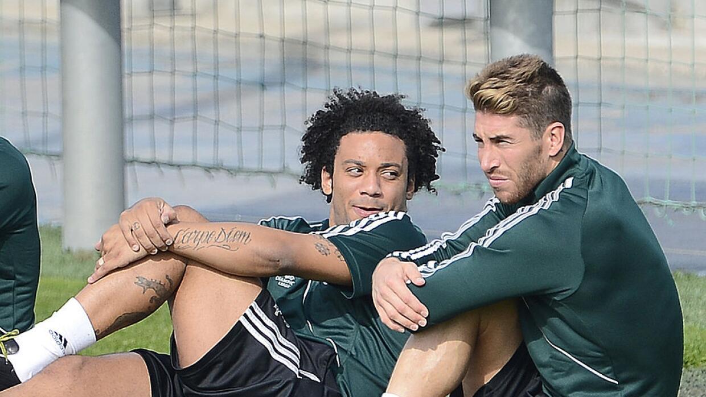 Marcelo y Sergio Ramos serán promovidos por Marc Anthony.