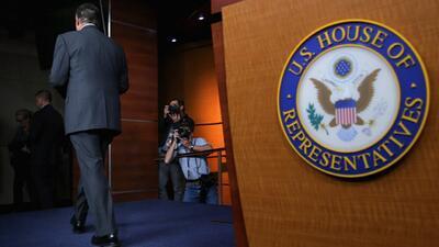 John Boehner anuncia su renuncia para el fin del mes de octubre