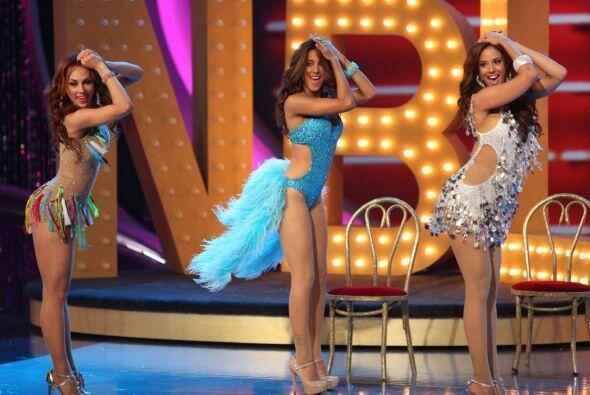 Las chicas no pararon de bailar con uno de los más recientes tema...