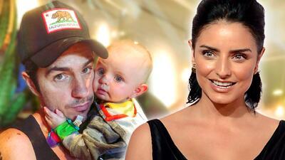 """Solo le falta amamantar"": Aislinn Derbez dice que Mauricio Ochmann es mejor mamá que ella"