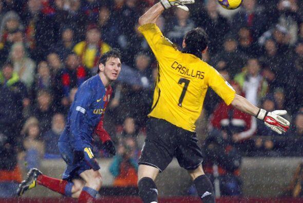 Messi, uno de los protagonistas del clásico español en los últimos años,...