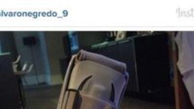 Esta fue la imagen que Negredo publicó en redes sociales.