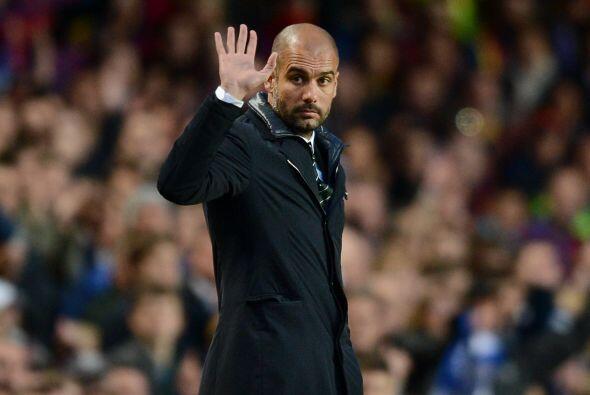 Guardiola le pedía calma a sus dirigidos con la idea de acabar el primer...