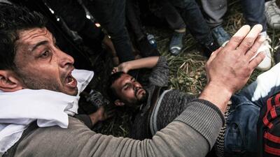 En fotos: Al menos 12 palestinos muertos y centenares de heridos en los choques entre manifestantes y la policía israelí