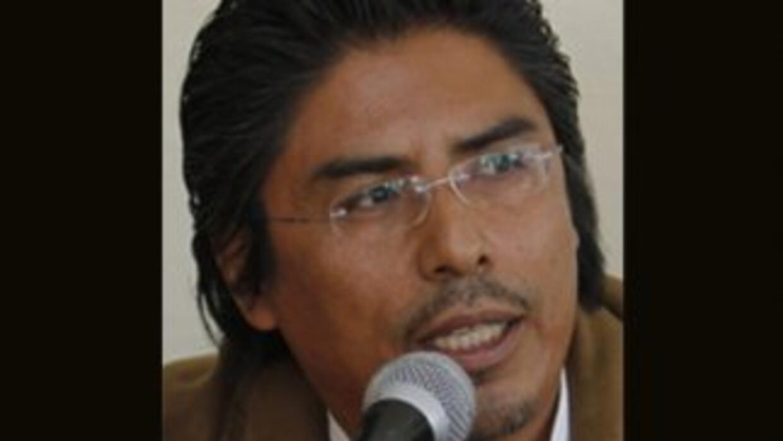 Cecilio Solís Librado, fundador de Red Indígena de Turismo de México, A....