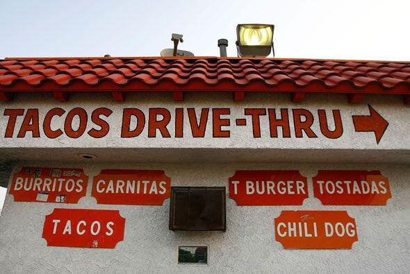 Los restaurantes californianos  han ajustado su menú a la comida mexicana.