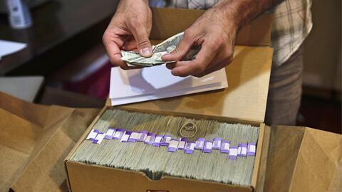 El dinero de la marihuana para pagar impuestos.