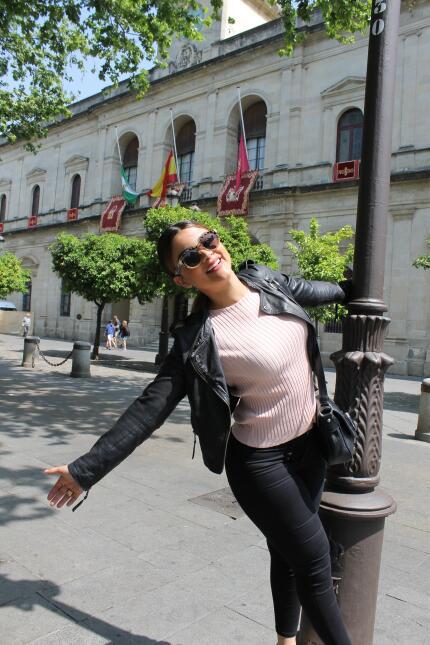 Estas son las fotos más bellas de Clarissa Molina en Sevilla IMG_4349.JPG