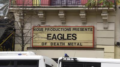 The Eagles of Death Metal se presentaron en un concierto en Bataclan.