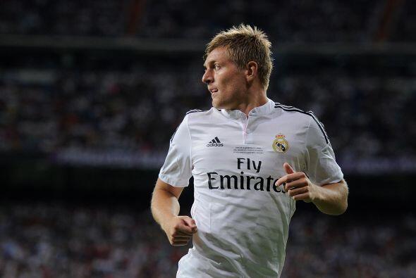 La media cancha tendrá la juventud y garra de Toni Kroos, el alemán lleg...