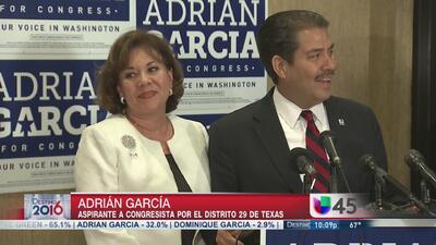 El ex alguacil Adrián García tuvo una noche dificil