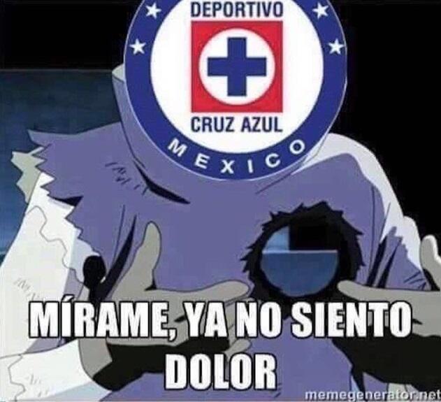 Los memes se ensañaron con el Cruz Azul