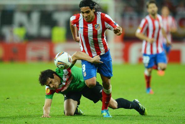 Pero el Atlético no bajó los brazos y fue el dueño del juego.