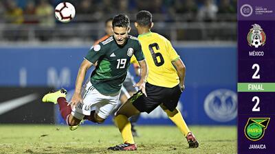 Tri Sub-20 divide puntos ante Jamaica en el Premundial, pero sigue invicto