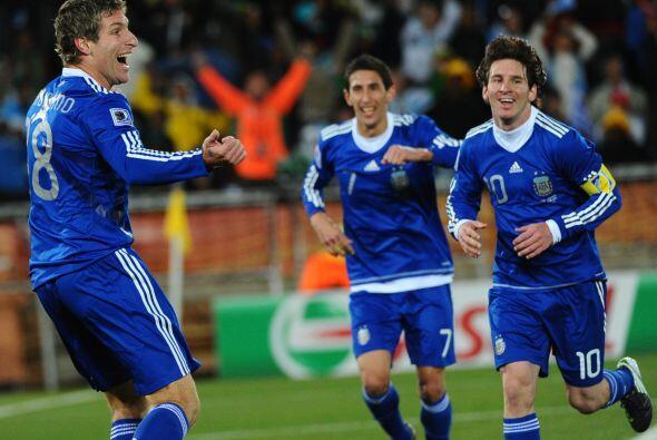 Sudáfrica, 22 de junio, partido ante Grecia, ¡gol de Palerm...