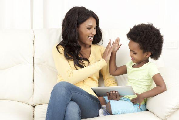 También puedes establecer con tu hijo una frase en código, en caso de qu...