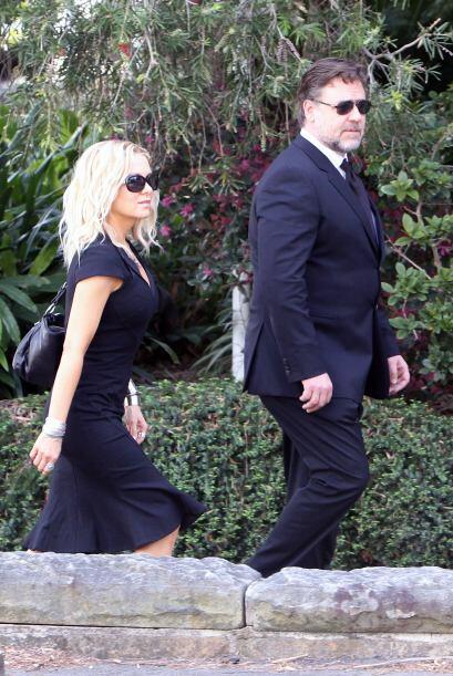 La pareja mostró gran apoyo y cariño a la familia Kidman.